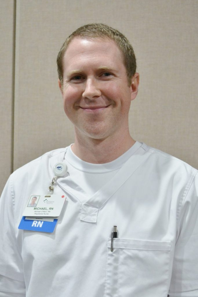 Michael O'Neill, RN, Medical-Surgical ICU/Coli ICU