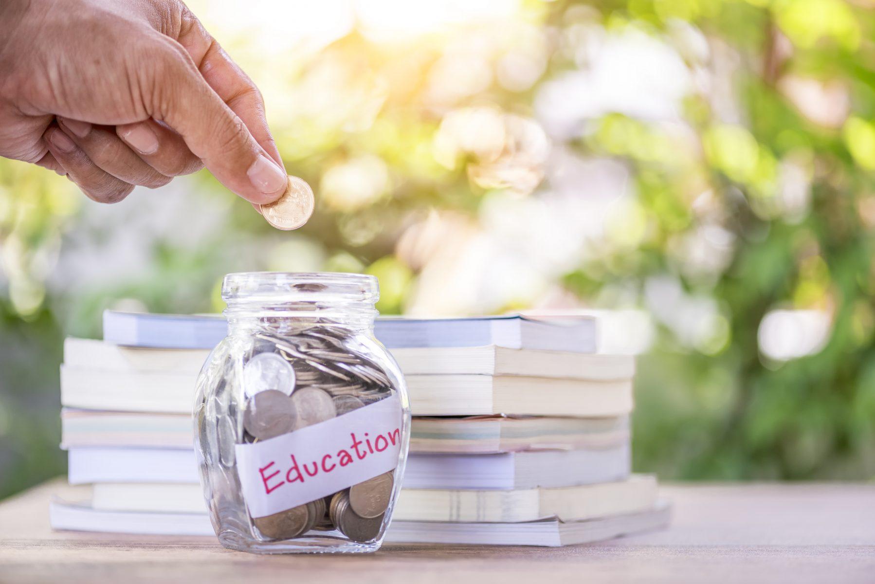 tuition-reimbursement-education-money-jar